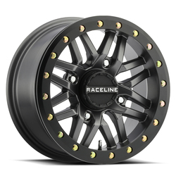 Raceline Wheels A91G Ryno Beadlock - Gunmetal