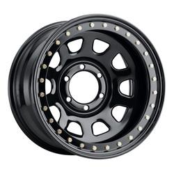 Allied Wheel 54B Daytona - Black Rim
