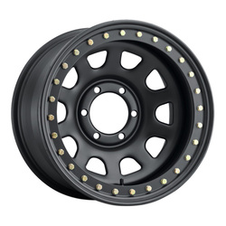 Allied Wheel 54M Daytona - Matte Black Rim