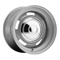 Allied Wheel 63 Rally - Silver Rim