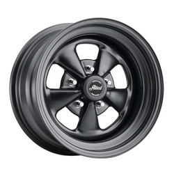 Allied Wheel 65B Super Spoke - Matte Black Rim - 15x6