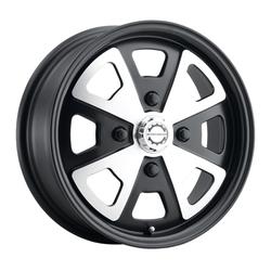 Mobelwagen Wheels MW Schnell - Black Machined Face Rim - 15x5.5