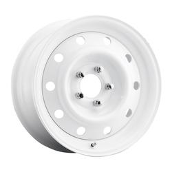 Mobelwagen Wheels MW Stahl - White Rim - 16x7