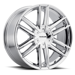Raceline Wheels 158C Impulse - Chrome Rim - 22x9.5