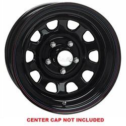 Raceline Wheels 51 Daytona - Black Rim