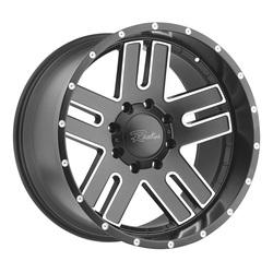 Raceline Wheels 601 Flow Form Magnitude - Gray Milled Rim