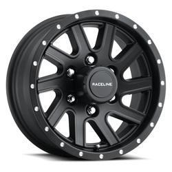 Raceline Wheels 820 Twisted Trailer - Matte Black Rim