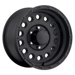 Raceline Wheels 887 Rockcrusher - Satin Black Rim - 15x10