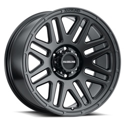 Raceline Wheels 944B Outlander - Satin Black - 17x8.5