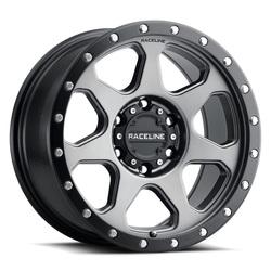 Raceline Wheels 949 7X - Gunmetal Rim