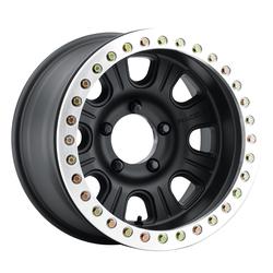 Raceline Wheels RT231 Monster RT - Black/Machined Ring True Beadlock Rim