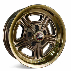 Racestar Wheels 32 Mirage - Bronze Rim - 18x7