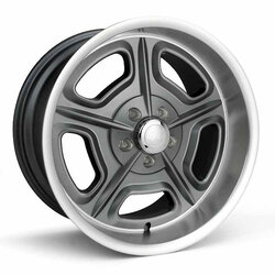 Racestar Wheels 32 Mirage - Gray Rim - 18x7