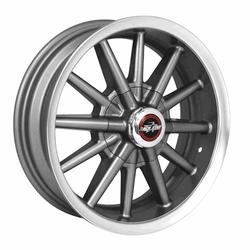 Racestar Wheels 34 Rattler - Gray Rim