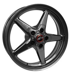 Racestar Wheels 92 Drag Star Bracket Racer - Gray Rim