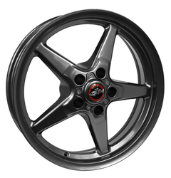Racestar Wheels 92 Drag Star Bracket Racer - Gray Rim - 18x5