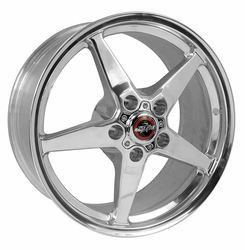 Racestar Wheels 92 Drag Star - Polished Rim - 15x5