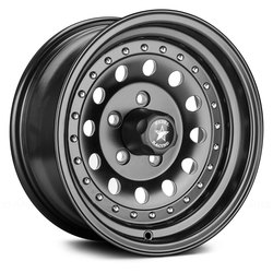 Rebel Wheels Rebel Wheels 762 Bandit II - Matte Black