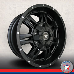 Rebel Wheels Brute - Matte Black
