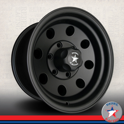 Rebel Wheels Rebel Wheels 772 Sahara - Matte Black