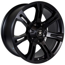 Rebel Wheels Rebel Wheels 7077 Buckshot - Matte Black