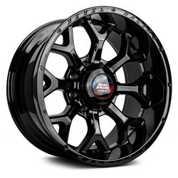 Rebel Wheels Rebel Wheels 103 Recluse HD-Black - Gloss Black