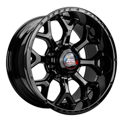 Rebel Wheels Recluse HD - Black Machined Rim