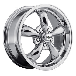 Rev Wheels 100 Classic - Chrome Rim - 17x7