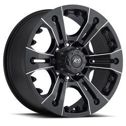 Rev Wheels 835 Offroad - Matte Black / Milled Rim
