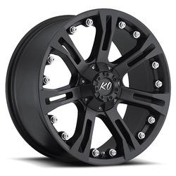 Rev Wheels 840 Offroad - Matte Black Rim