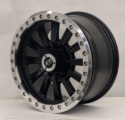 DV8 Wheels 881 Offroad True Beadlock - Matte Black Rim