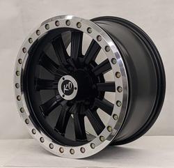 DV8 Wheels 881 Offroad True Beadlock - Matte Black Rim