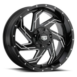 Rev Wheels Rev Wheels 895 Offroad - Gloss Black / Milled