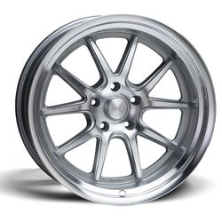 Rocket Racing Wheels Attack - Titanium / Machined Rim - 18x7