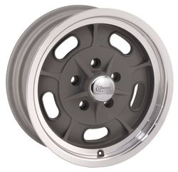 Rocket Racing Wheels Igniter - Gray Paint Center / Machined Lip - 16x4.5