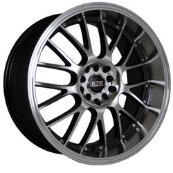 STR Racing Wheels STR 514 - Black Machine Face Rim