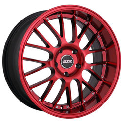 STR Racing Wheels STR Racing Wheels STR 514 - Magic Red - 18x8.5