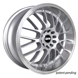 STR Racing Wheels STR 514 - Silver Machine Face Rim
