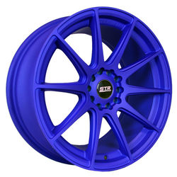 STR Racing Wheels STR 524 - Matte Blue Rim