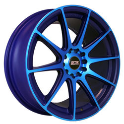 STR Racing Wheels STR 524 - Neon Blue