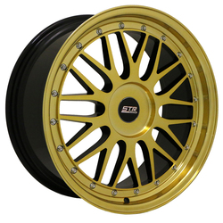 STR Racing Wheels STR 601 - Magic Gold Rim