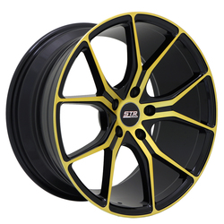 STR Racing Wheels STR 602 - Magic Gold Rim