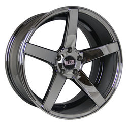 STR Racing Wheels STR 607 - Vapor Black Rim