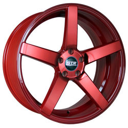 STR Racing Wheels STR 607 - Neon Red Rim