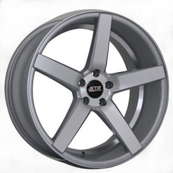STR Racing Wheels STR 607 - Silver Machine Face