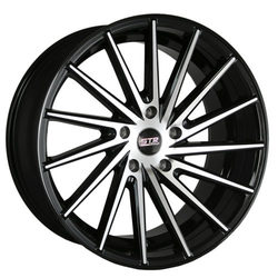 STR Racing Wheels STR 616 - Black Machine Face Rim