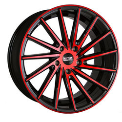 STR Racing Wheels STR 616 - Magic Red Rim