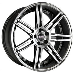 STR Racing Wheels STR 619 - Vapor Black Rim
