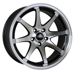 STR Racing Wheels STR 903 - Black Machine Face Rim