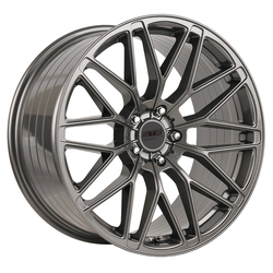 STR Racing Wheels STR 906 - Shiny Gun Metal Rim